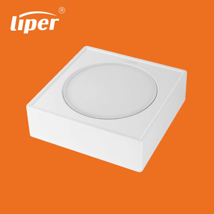 Liper <strong>K</strong> series 12w surface mounted square downlight