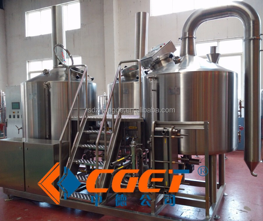 Supply Mini brewery equipment, turnkey project