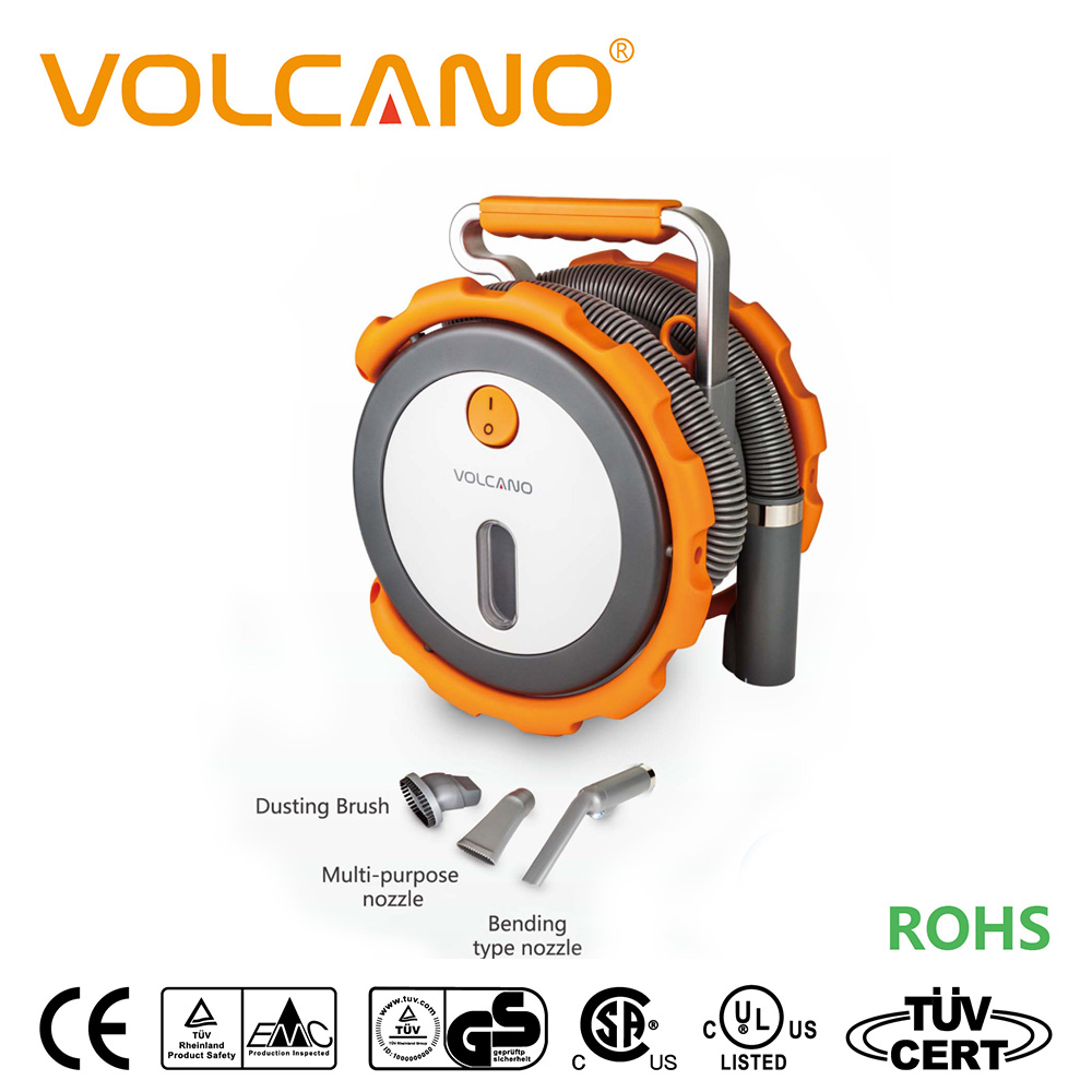 VOLCANO turbo car vacuum cleaner patent protect car turbo vacuum cleaner