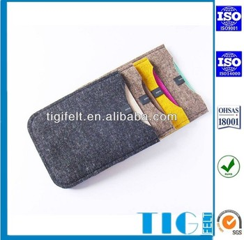 Felt Material Wool Felt Mobile Phone Case