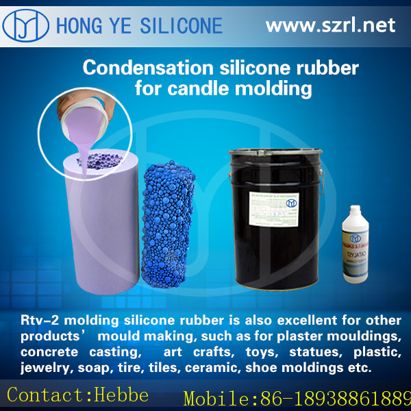 Liquid silicone wax For Gypsum tile Mold Making