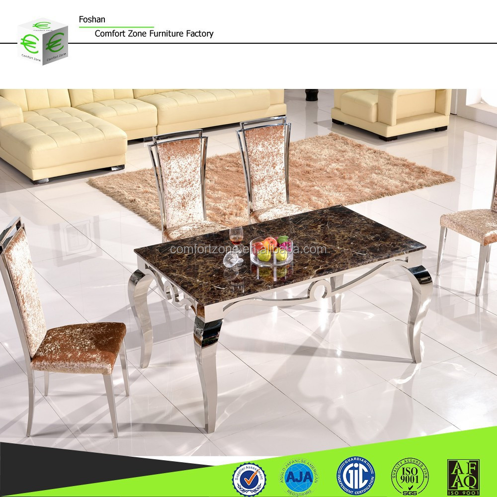 A8034 Walmart marble dining room table and chair