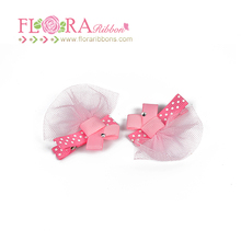 Lovely pretty girl fancy customized french barrette hair clips wholesale