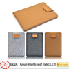 Promotional 12inch wool felt laptop tablet sleeve bag made in China