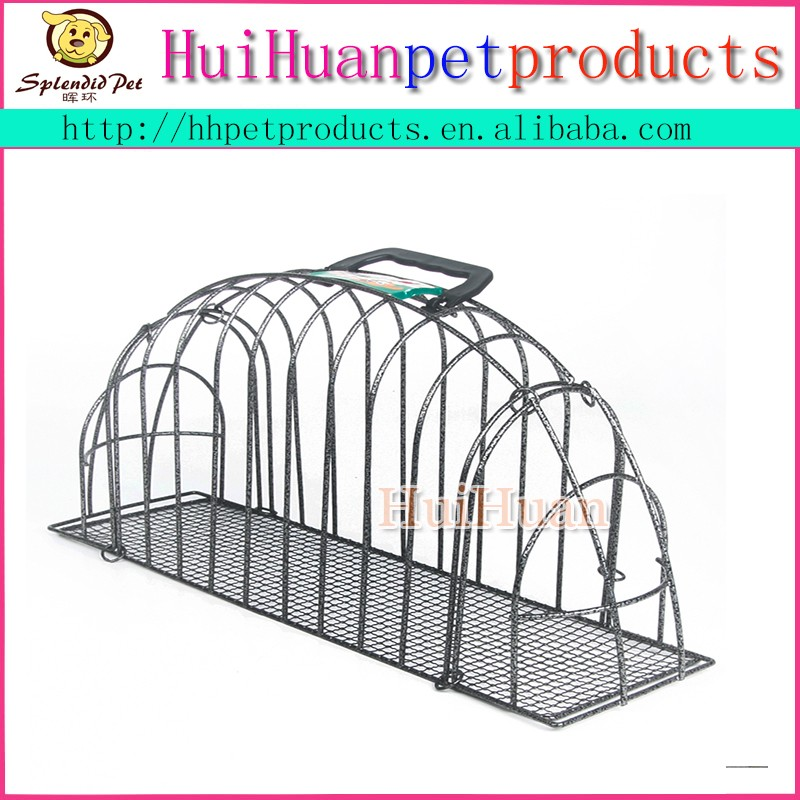 New design durable rustless metal cat shower cage
