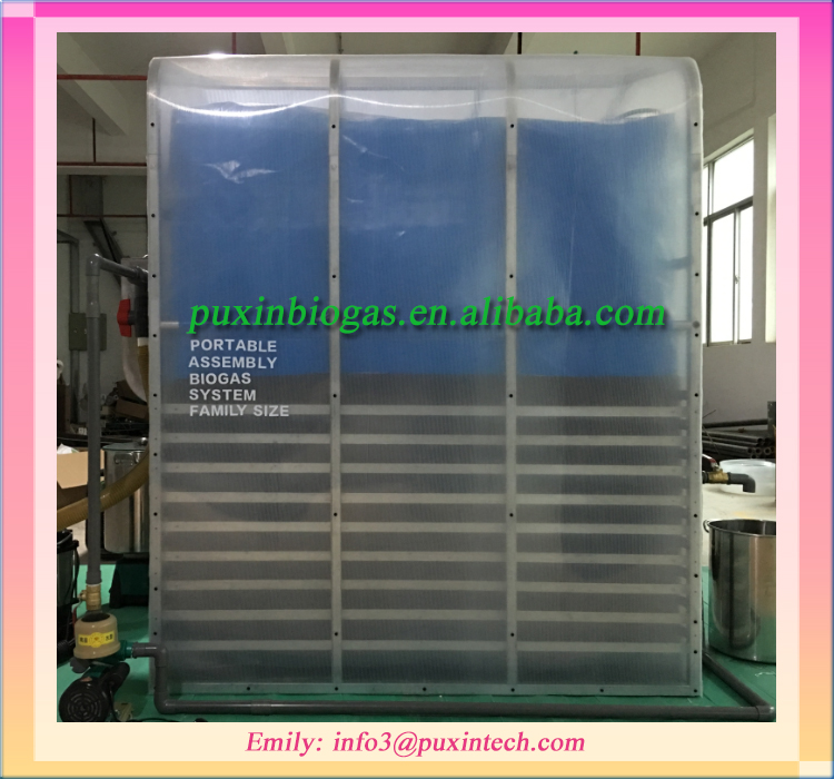 Low cost assembly mini mbr wastewater treatment plant