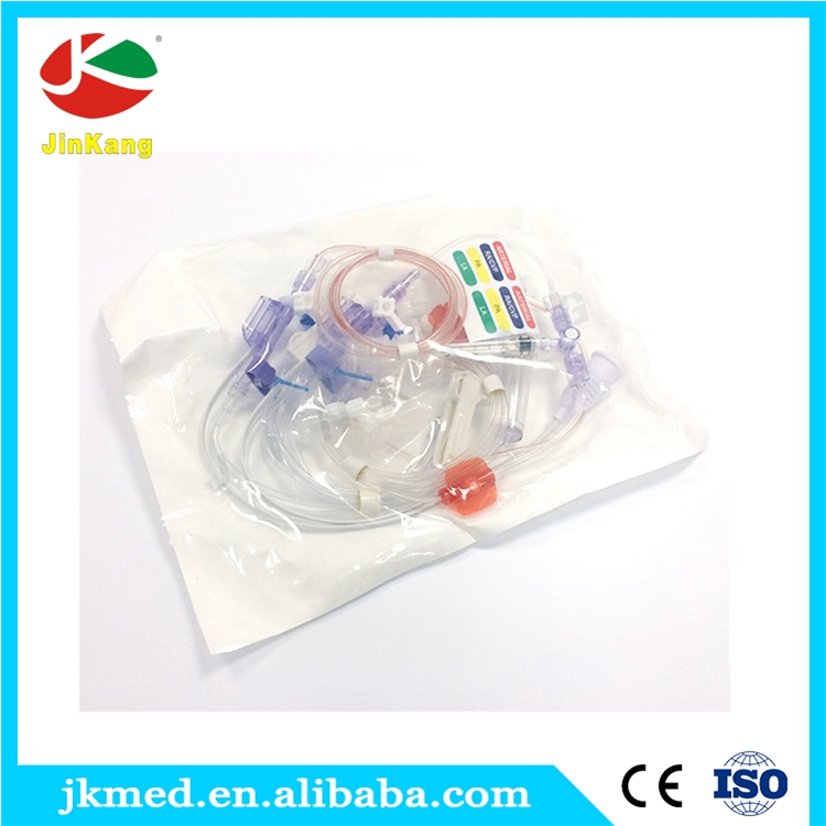 Good quality disposable IBP blood pressure transducer with indicator line