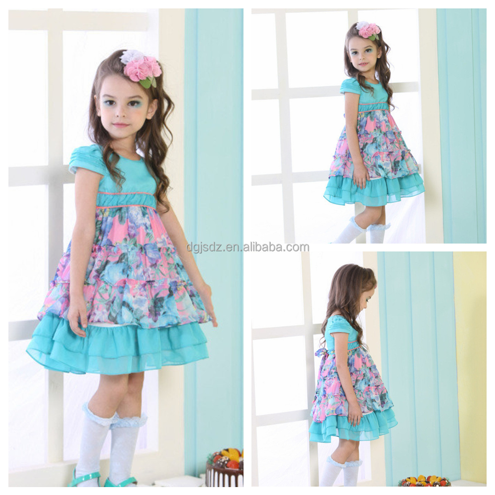 Indian Cotton Dress Children / Fashion Kids Girls Dresses ...