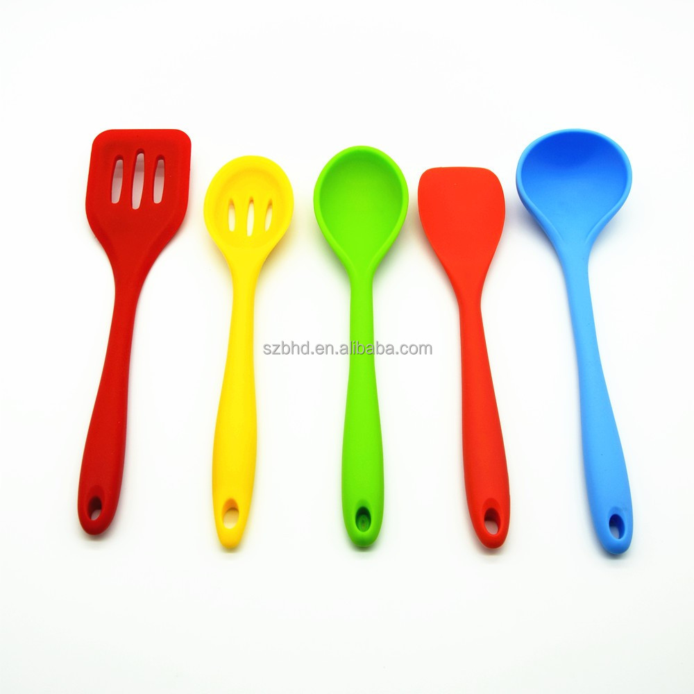 FDA approved silicone cooking kitchen utensil sets