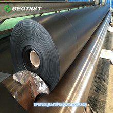 Single/Double side textured HDPE geomembrane roll