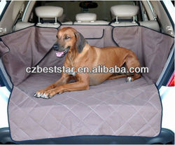 Washable Quilted SUV Rear Cargo Liner Cover Dog Pet Bed