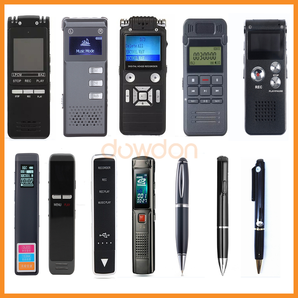 Factory Price Digital Voice Recorder Manufacturer Professional USB Dictaphone Recording Pen support OEM