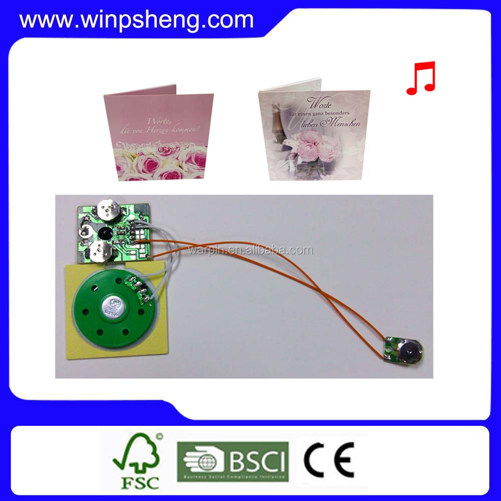 sound module/voice chip mini voice recording module