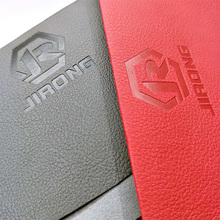 Eco-friendly lichee artificial leather embossing pattern PU for phone cover, book,leather tray