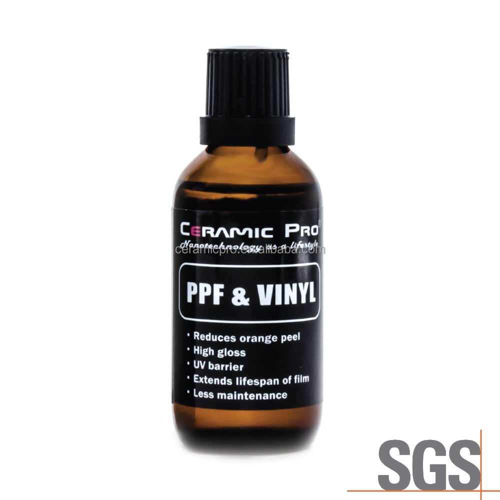 Ceramic Pro PPF & Vinyl - Polyurethane Film and Vinyl Wrap protection liquid glass coating