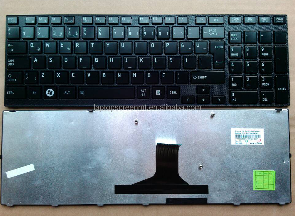 Promotional! TR layout laptop keyboard for Toshiba satellite A660