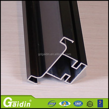 Picture frame custom aluminum extrusion for glass