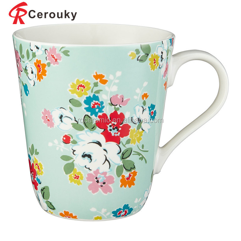 Customized ceramic stoneware paintable ceramics mug