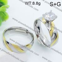 chinese wholesaler jewelry gsg stainless steel square ring unisex chainmaille