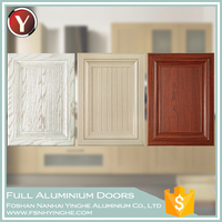 Wood Grain Heat Transfer Furniture Aluminium Interior Door