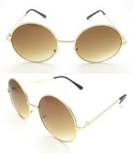 2017 New arrival CJ023 fashion trend attractive round metal sunglasses