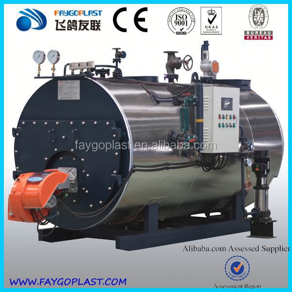 WNS horizontal oil (gas) steam boiler thermal fluid heater