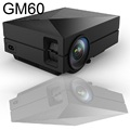 Pocket GM60 LED Projector 1000Lm 800*480 Pixels 1080P HD Mini Projector Multimedia Player For Home Theater Cinema Outdoor Office