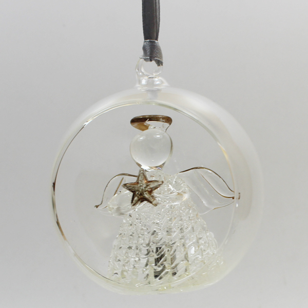 New hot sale wholesale clear glass christmas ball