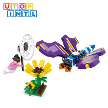 guangdong safety design butterfly blocks educational toys for adults