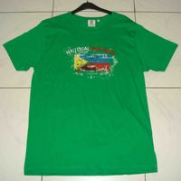 Green Color Half Sleeve Cotton T-Shirt