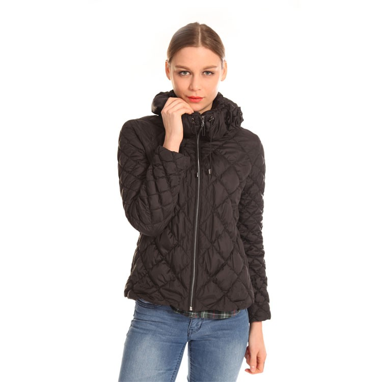 Cheap Wholesale New Product OEM Fashion Women Down Jacket
