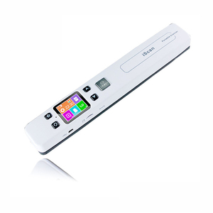 2016 new style optional wireless wifi handheld portable iscan A4 document scanner 1050 dpi iscan