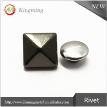 Zinc Alooy 8mm Pyramid Rivets For Belt