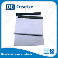 Plastic poly bags sealing for garments