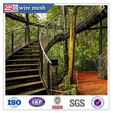 X-tend stainless steel wire cable mesh/Zoo rope woven mesh