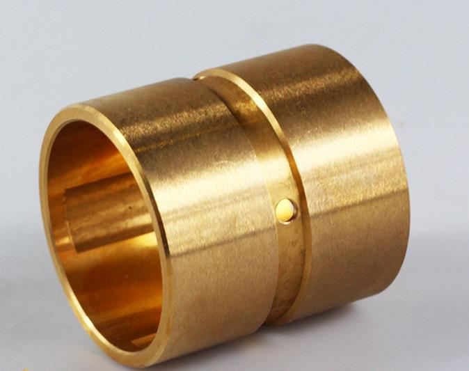 Oil Sintered Copper Bearing Split Flange Oilless Wrapped