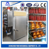 Furui brand smoked sausage smoking machine/smoked chicken equipment