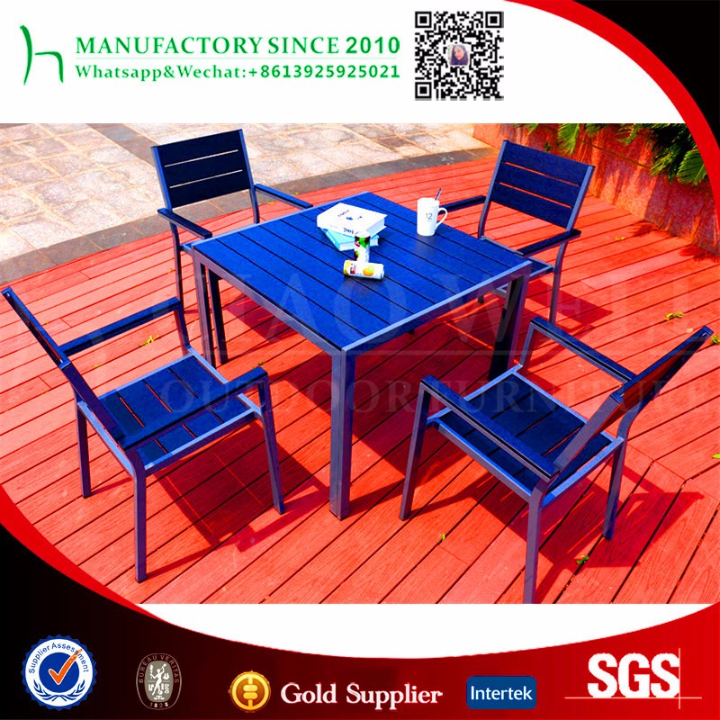 Home furniture Dining room sets 6 chairs plastic outdoor table and chair set