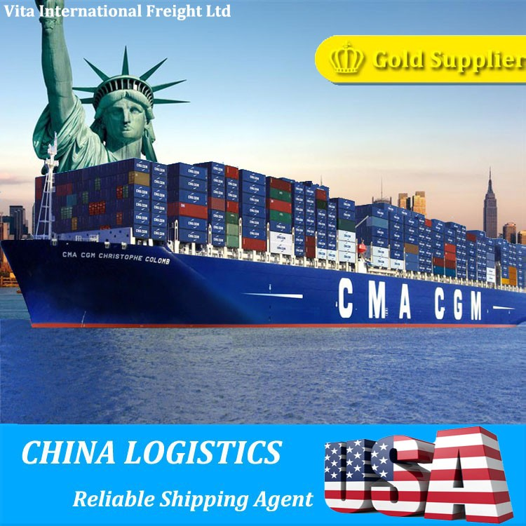 Quick cheap china sea freight Ocean freight sea shipping to USA