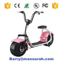 2016 coolest CE approved 1000W citycoco with seat cheap electric scooter 2 big wheel scooter for adult