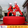 New design Inflatable fire man modle,commercial advertising inflatable cartoon