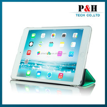 Factory Wholesale Tablet Case Cover Super Slim Smart Cover Case for iPad Air 2 , for iPad Air Case Smart ,for iPad Case Smart
