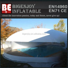 water proof air dome big inflatable outdoor tent for swimming pool with clear windows
