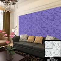 International trade widely popular 3 dimensional wallpanels
