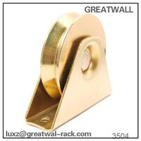 Greatwall wheel bearing groove sliding door hanging pulley for sliding gate doors and windows