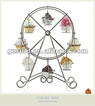 Chrome Wire Ferris Wheel Cupcake Stand