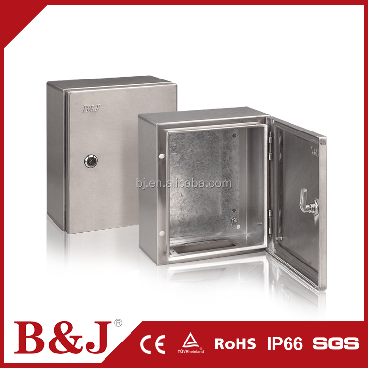 B&J Standard Sizes Metal Stainless Steel Enclosure Electrical Junction Box For Sale
