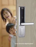 the cheapest anti-theft smart card touch screen keypad lock