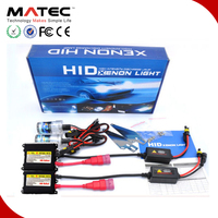 Xenon Kit HID Top Quality, 12v 24v 35w 55w 75w 100w H4 Xenon Bulbs H7 H11 H15 9012 Xenon Lights from MATEC