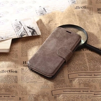 Retro PU Leather Magnetic Wallet Flip Protective New Mobile Phone Case for Xiaomi mi 6/ 5 / redmi note 4/ 4X